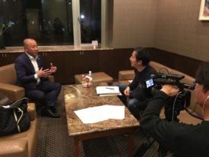 NHK WORLD Interview